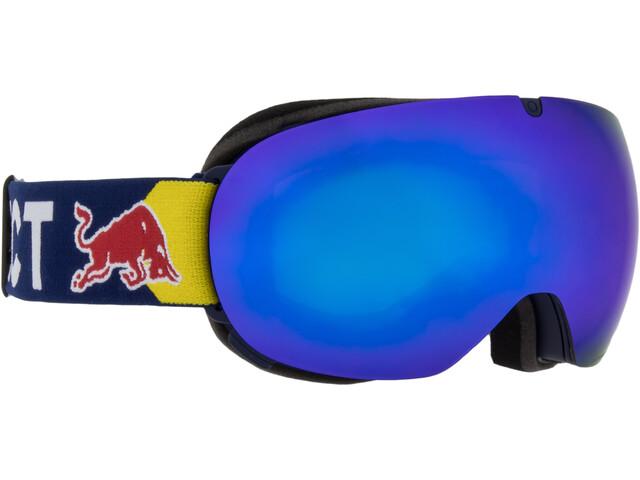 Red Bull SPECT Magnetron Ace Lunettes de protection, dark blue/blue snow